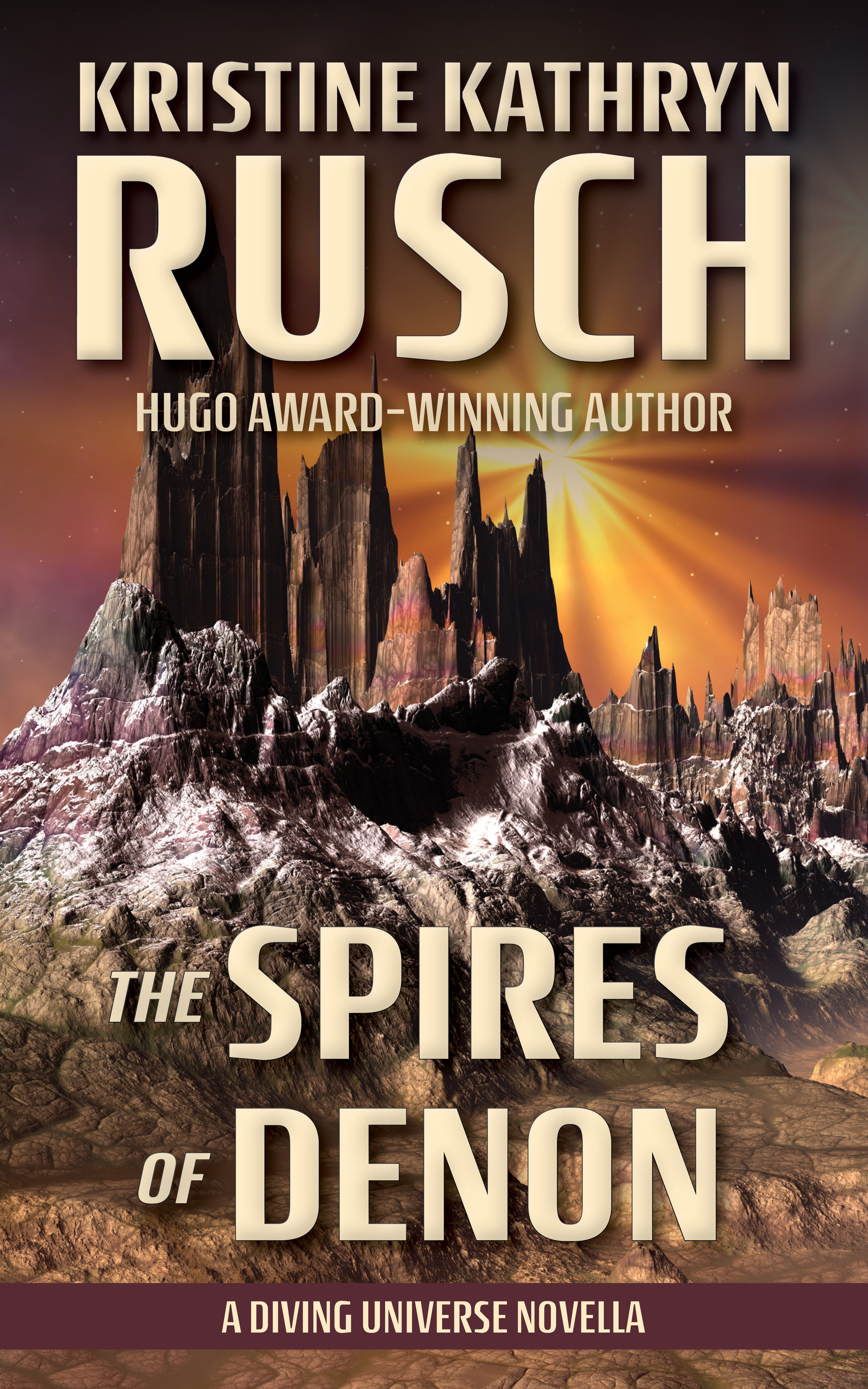 The Spires of Denon ebook cover web